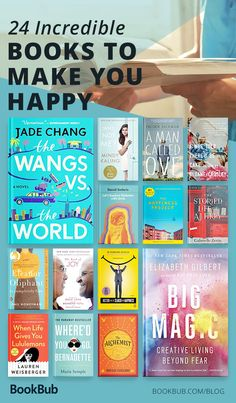 24 Feel-Good Books That Will Make You Happy 24 uplifting books that will make you happy — pick up these books to lighten your spirits. Feel Good Books, Books You Should Read, Best Books To Read, I Love Books, My Books, Books To Read In Your 20s, Books To Read For Women, Cool Books, Read Books