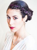 3 DIY Holiday Party Updos #refinery29 -  The Twisted Chignon
