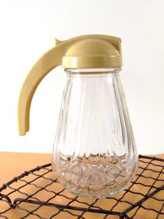 Vintage Syrup Pitcher Pourer Container by ConvergedCommodities, $8.00