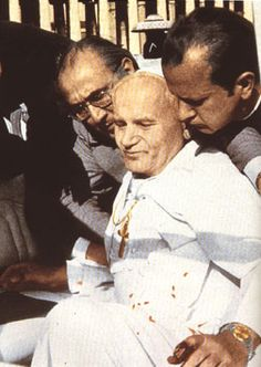 On this day 13th May 1981 : Pope John Paul II, is shot in St Peter's Square in Rome in front of 20,000 worshippers. Police in the square apprehended Turkish citizen Mehmet Ali Agca after the shooting.