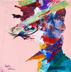 Ardith's Art Journal: Acrylic Skins and Paper Collage