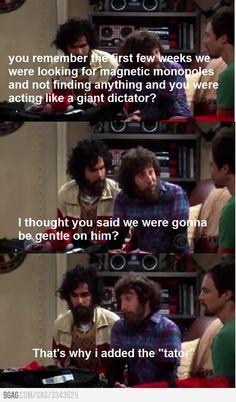 The Big Bang Theory Memes - dictator Big Bang Theory Quotes, Big Bang Theory Funny, Movie Memes, Movie Quotes, Funny Quotes, Sheldon Cooper Quotes, Hilarious, Tv Funny, Humor