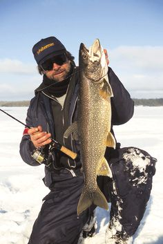 Ice fishing sled ice fishing and sled on pinterest for Lake trout ice fishing
