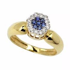 Anel Formatura Feminino Pedagogia Em Ouro 18k Sedex Gratis - R$ 895,99 em Mercado Livre Cute Jewelry, Jewlery, Ring Designs, Heart Ring, Gold Rings, Sapphire, High Heels, Bling, Fancy