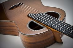 Florian Vorreiter - Professional Luther. The classical guitars made in his workshop are some of the best. The construction and design is something unique to his instruments. The selection of woods and cut alone allow this to be art; I am sure the sound is great also.
