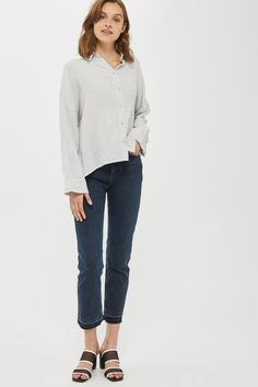 Gauzy Crinkle Shirt