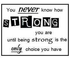 Sens de la force - Strong you are - Le blog de 100sens