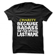 CHARITY T Shirts, Hoodies. Get it now ==► https://www.sunfrog.com/Camping/CHARITY-109430066-Guys.html?57074 $19