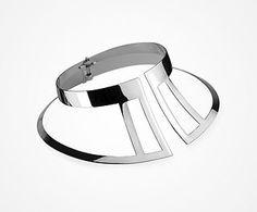 TUTU Neck piece  |  Sterling silver   |  UHURU Collection 2015  |  JACOBO TOLEDO