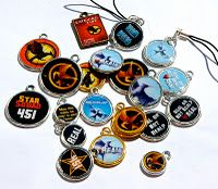 Hunger Games Charms and Magnet Tutorials