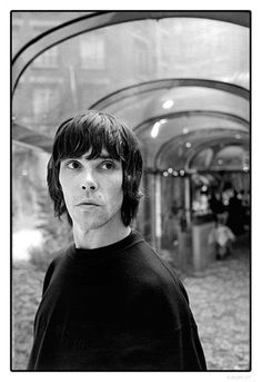 Ian Brown [pinned on June Ian Astbury, Great Music Videos, Ian Curtis, Alternative Rock Bands, Stone Roses, June 19, Great Shots, New Love, Album Covers