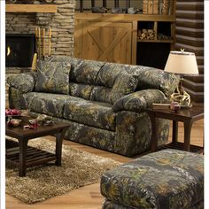 Sofa Covers Big Game Mossy Oak Camo Sofa by Jackson Furniture