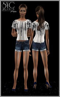 Sims York City: AF_Casual