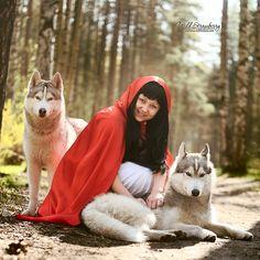 Red Riding Hood by Mariana Mikhailova on 500px