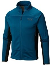 Mountain Hardwear Mens Desna Grid Fleece - Phoenix Blue The Mountain Hardwear Mens Desna Grid Fleece is a comfortable, technical fleece with Polartec Power Dry High Efficiency grid fleece that locks in heat without added bulk or sacrificing breathability http://www.MightGet.com/january-2017-13/mountain-hardwear-mens-desna-grid-fleece--phoenix-blue.asp