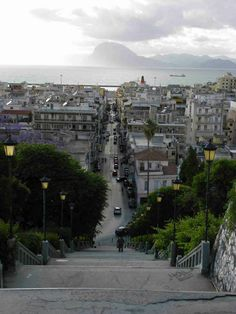 Patra, Peloponissos, Greece steps give or take) Patras, Paradise On Earth, Planet Earth, Good Times, Paris Skyline, Planets, Europe, Spaces, Country
