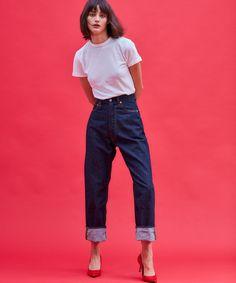 Grey Fashion, Fashion 2020, Denim Fashion, Fashion Pants, Paris Fashion, Womens Fashion, Oufits Casual, Casual Outfits, Minimal Dress