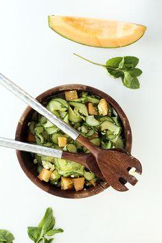 cantaloupe salad with avocado and feta more cucumber noodle cantaloupe ...
