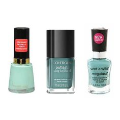 Spring nails: The prettiest mint polishes #beauty ~ E* You can't go wrong with Revlon; love their polish and this shade.