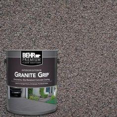BEHR Premium 1 gal. #GG-03 Atlantic Topaz Decorative Concrete Floor Coating 65001 at The Home Depot - Mobile