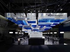 Fair Stand at ExpoReal 2010, Munich / by Ippolito Fleitz Group | Architecture List