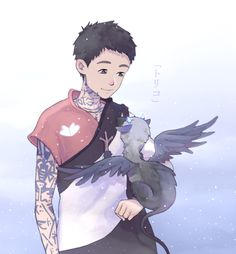 The Last Guardian, a trico kit Fantasy Creatures, Mythical Creatures, Anime Plus, Character Art, Character Design, Anime Pictures, Geek Games, Video Game Art, Video Games