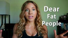 DEAR FAT PEOPLE RESPONSE