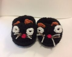 Un favorito personal de mi tienda Etsy https://www.etsy.com/ie/listing/243832728/reserved-for-abi-kitten-booties-baby