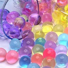 10,000x Mixed Water Aqua Soil Mud Crystal Bio Gel Ball Plant Flower Pearl Beads