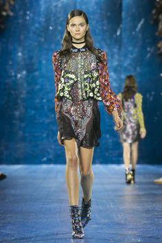 Shop the Runway - Spring Summer 2016 - now from the luxury ready to wear and accessories womenswear designer Mary Katrantzou's new Runway - Spring Summer 2016 - collection Runway Fashion, Fashion Show, Womens Fashion, Fashion Design, Spring Summer 2016, Spring Summer Fashion, Shop The Runway, Future Trends, Mary Katrantzou