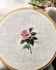 how to do brazilian embroidery stitches Rose Embroidery, Hand Embroidery Stitches, Silk Ribbon Embroidery, Embroidery Hoop Art, Hand Embroidery Designs, Cross Stitch Embroidery, Embroidery Patterns, Butterfly Embroidery, Machine Embroidery