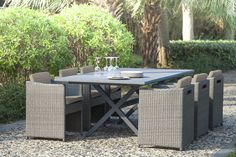 Salon de jardin Auchan, achat ELIXIR Salon de jardin MALDIVES 8 ...