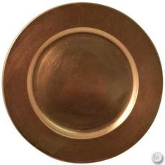 Save 5% OFF Copper Charger Plates Today @ CaterersWarehouse.com !