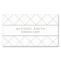 The 103 best business cards corporate branding images on professional elegant dot pattern white simple business card reheart Gallery