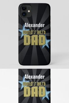 World's Best Dad, Blue Stars iPhone 11 Case fathers day gifts from kids diy boys, mom and dad gifts, photo fathers day gifts Happy Fathers Day Brother, Happy Father's Day Husband, Happy Fathers Day Funny, Fathers Day In Heaven, Happy Fathers Day Pictures, 1st Fathers Day Gifts, Fathers Day Wishes, Happy Father Day Quotes, Homemade Fathers Day Gifts