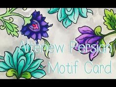 Altenew Persian Motifs - YouTube
