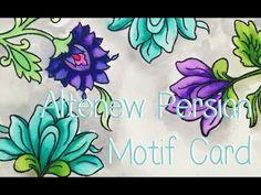 Altenew Persian Motifs - YouTube