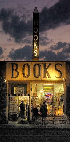 The Bookworm book store