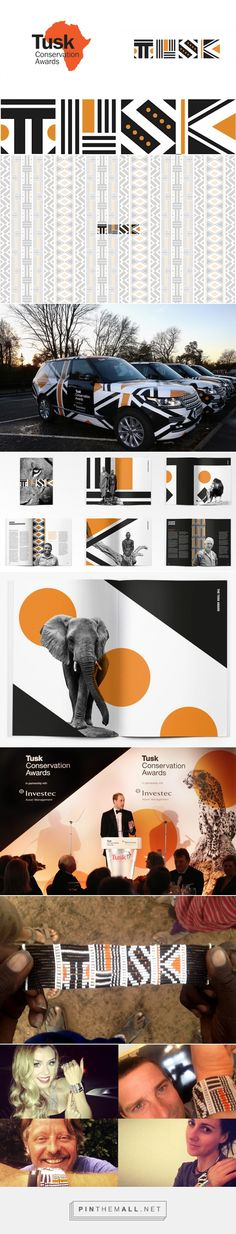 Brand New: New Logo and Identity for Tusk Conservation Awards by The Partners...