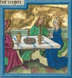 """Furtmeyr-Bibel (Deutsche Bibel """"Münchener Altes Testament""""). Band 1: Genesis - Ruth. Cgm 8010a 1465-70, Regensburg Folio 188"""