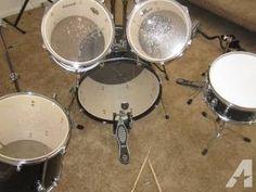 ludwig accent 5 piece drum set - $350 (billings)