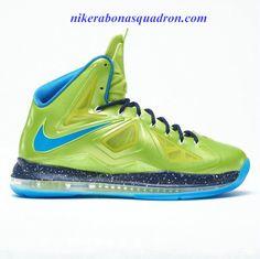 2547f988aed Lebron shoes 2013 Lebron 10 Volt Green Blue Black I want o.
