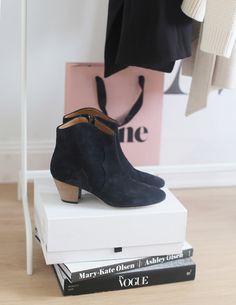 Isabel Marant black Dicker boots