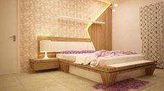 Master Bedrooms Luxury Interior Design by Nikhil Inaniya Simple Bed Designs, Bed Designs With Storage, Simple Bedroom Design, Bedroom False Ceiling Design, Wardrobe Design Bedroom, Luxury Bedroom Design, Bedroom Furniture Design, Master Bedroom Design, Bed Furniture