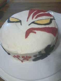 April 2012 - My daughter decorated this cake, which was inspired by an anime called Bleach.
