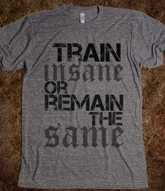 for Juli: Men's train insane or remain the same