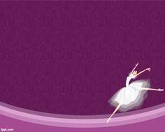 Bailarina de Ballet Plantilla PowerPoint