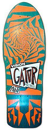 """Model: Mark """"Gator"""" Rogowski (mini)  Artist: Greg Evans  Company: Vision  Release Date: 1987"""