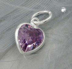 Anhänger, Zirkonia amethyst, Silber 925 Dreambase, http://www.amazon.de/dp/B00H2IM7NG/ref=cm_sw_r_pi_dp_khUitb03S0JYF