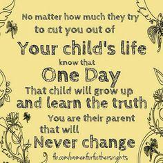 Truth about parental alienation